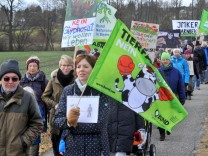 Hechendorf : Anti Glyphosat Demonstration