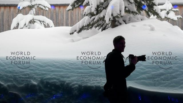 Wirtschafts- und Finanzpolitik Weltwirtschaftsforum Davos