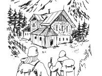 Hütten, Bergrestaurants, Wandern