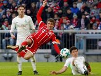 Thomas Müller trifft gegen Werder Bremen