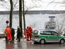 Taucherrettung bei Allmannshausen; Taucherrettung im Starnberger See