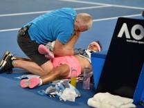 Rafael Nadal verletzte sich bei den Australian Open 2018