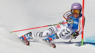 Skiing - Ladies' Alpine Giant Slalom