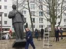 Stalin-Statue in Berlin errichtet (Vorschaubild)