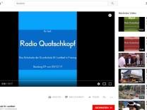 Radio Quatschkopf  Schule St. Lantpert Freising