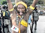 Penisrohr auf West-Papua; AP