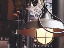 Das Comeback der Industrielampe