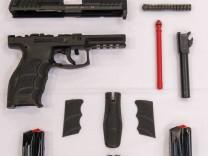 Neue Dienstwaffe der Polizei