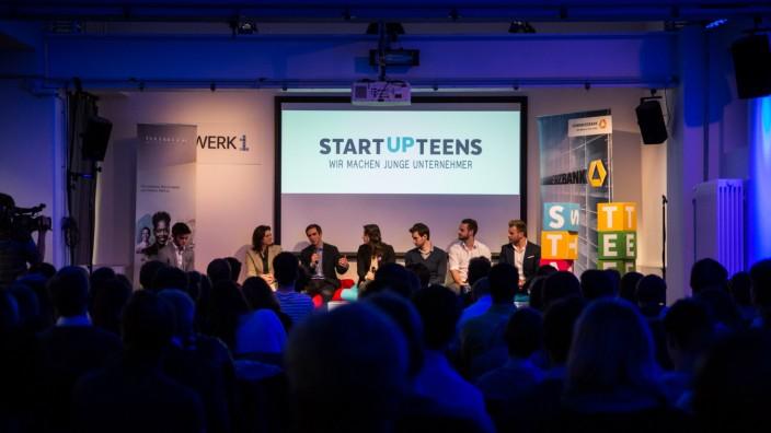 München: 100 Teenager treffen ihre unternehmerischen Vorbilder.
