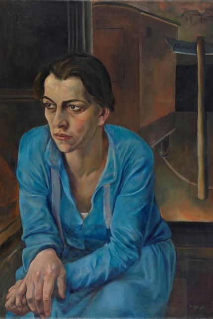 Rudolf Schlichter: Porträt der Helene Weigel