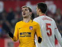 Spanish King's Cup - Quarter Final Second Leg - Sevilla vs Atletico Madrid