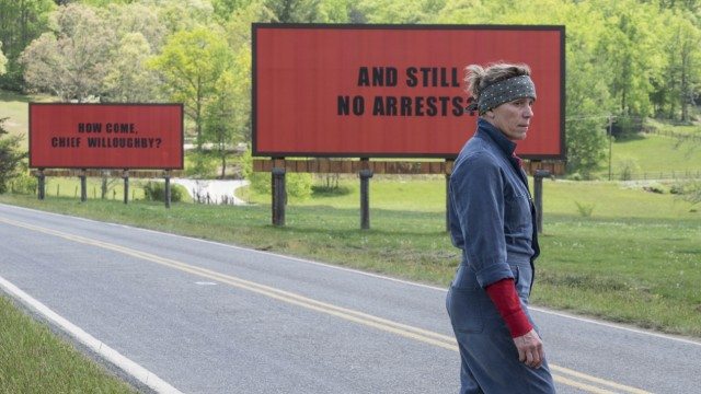 "Kino ""Three Billboards Outside Ebbing, Missouri"""