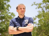 FILE: Phil Neville Has Been Appointed Head Coach Of The England Women's Team