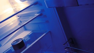 Dose in einem Kühlschrank Box in a refrigerator BLWX087114 Copyright xblickwinkel McPhotox Alfred