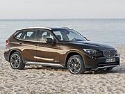 Braune Autos, BMW, dpa
