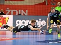 Handball EM Deutschland Dänemark Handball Varazdin 21 01 2018 Europameisterschaft Herren Männer
