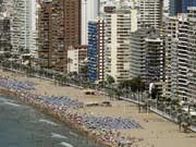 Strand von Benidorm, AFP