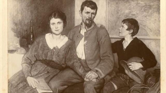 Die Münchner Künstlerfamilie Max Feldpostbriefe 1914-1918