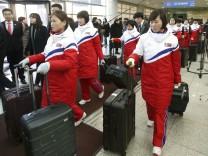 Nordkorea schickt Eishockey-Spielerinnen zu Olympia in Südkorea