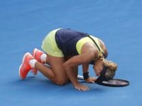 Angelique Kerber verliert gegen Simona Halep bei den Australian Open