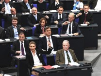 Abgeordneten der AfD-Fraktion