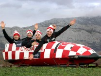 Croatian bobsled team 19 01 2018 Croatia Stobrec Croatian bobsled team that qualified for the W