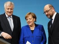 Sondierungen von Union und SPD