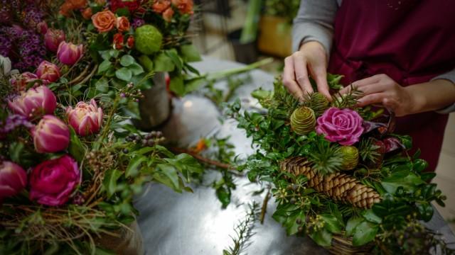Konsum und Handel Blumenhandel