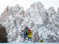 FREE STYLE FIS SX WC Innichen INNICHEN ITALY 21 DEC 17 FREESTYLE SKIING FIS World Cup Ski Cro
