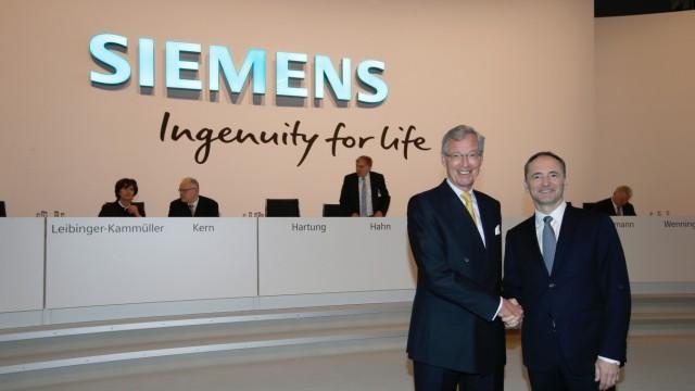 Hauptversammlung 2017 der Siemens AG in München / Annual ShareholdersâÄÖ Meeting 2017 of Siemens AG at the Olympiahalle in Munich, Germany