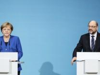 Merkel, Seehofer und Gabriel
