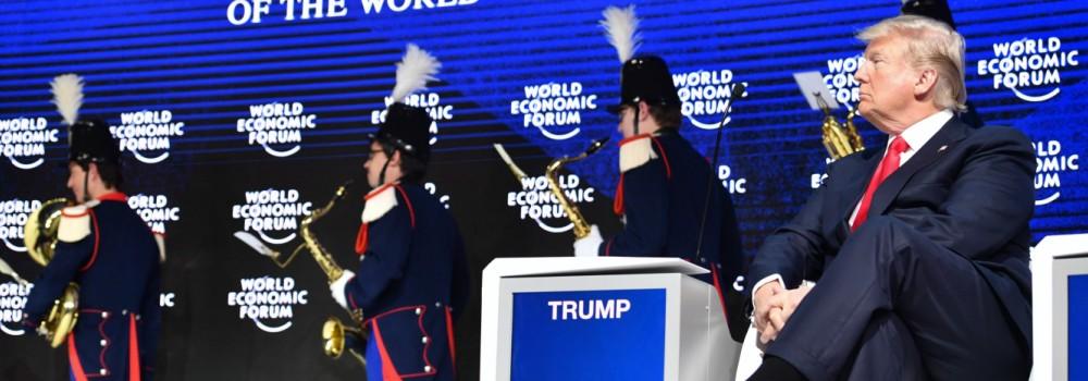 Wirtschafts- und Finanzpolitik Weltwirtschaftsforum in Davos