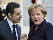 Sarkozy, Merkel, dpa