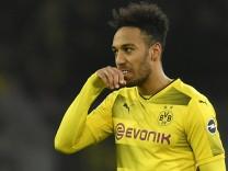 BVB: Borussia Dortmunds Stürmer Pierre-Emerick Aubameyang