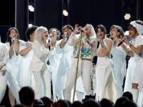 60th Annual Grammy Awards âē Show âē New York