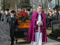 Beerdigung Josef Wagner