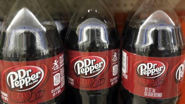 Dr. Pepper Flaschen