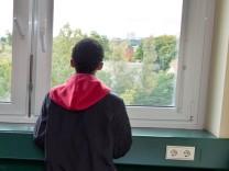 Unbegleiteter minderjähriger Flüchtling