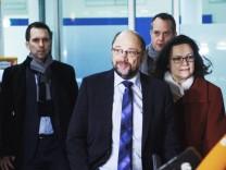 Koalitionsverhandlungen zwischen Union und SPD