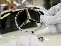 Daimler: Mercedes-Produktion im Werk Sindelfingen