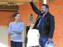 Celebrity Sightings In Los Angeles - January 27, 2018; Ben Affleck im Dad-Style