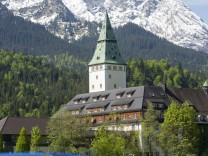 Police Prepare For G7 Summit At Schloss Elmau