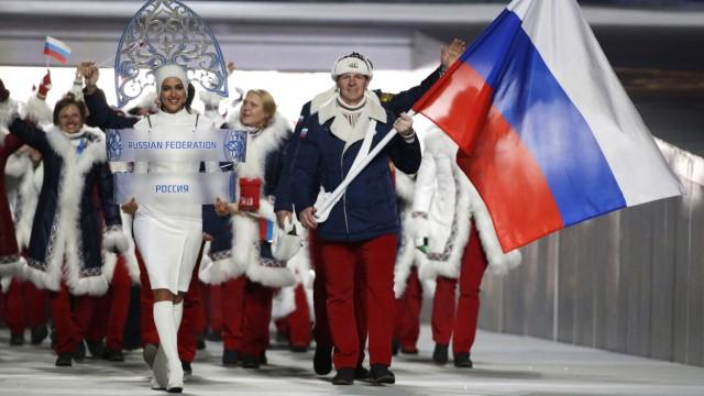 Eröffnungszeremonie Olympische Winterspiele Sotschi