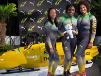 Frauen Bob-Team Jamaika
