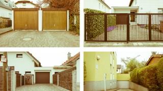 Garage neben Garage: Diesen Irrsinn will Fotograf Klaus D. Wolf mit seinen Bildern dokumentieren.