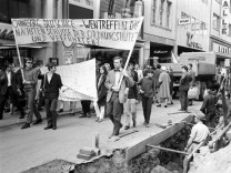Anti-Springer Demonstration in Bonn 1968