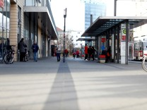 FILE PHOTO: Shopping mall Blechen Carre is seen in Cottbus