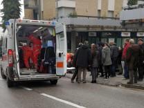 Schießerei in Macerata