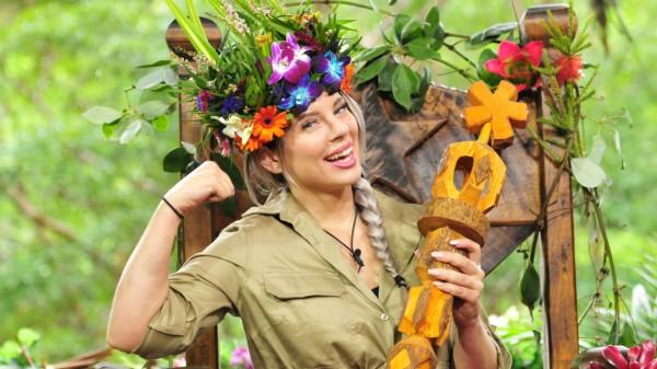 Dschungelkönigin Jenny Frankhauser, Halbschwester von Daniela Katzenberger, Dschungelcamp, RTL