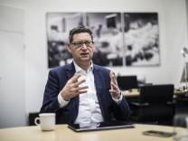 FR Interview mit Thorsten Schäfer Gümbel SPD Fraktionsvorsitzender und Landesvorsitzender der hess